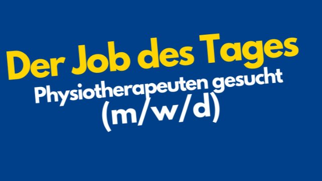 Physiotherapeut in Cottbus (m/w/d)-Image