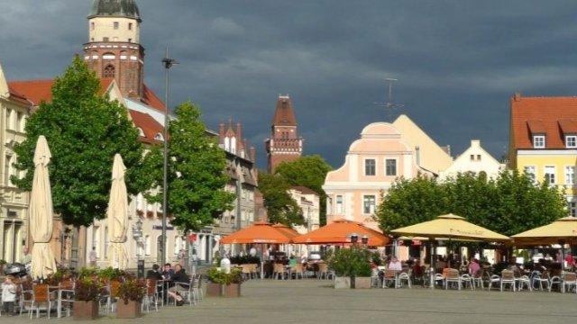 Cottbuser Altmarkt wird autofrei-Image