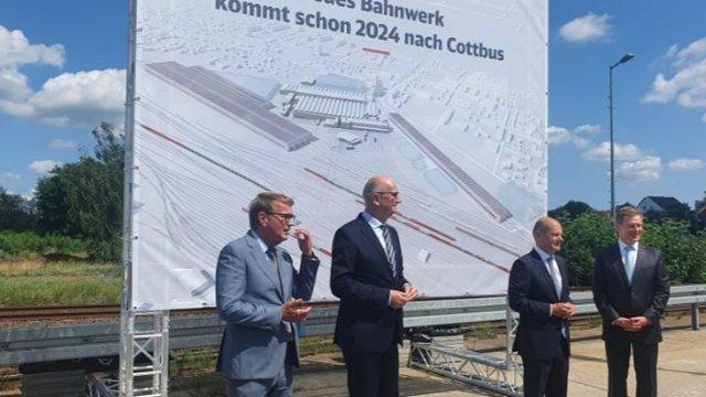 Cottbuser ICE-Werk wird eher fertig-Image