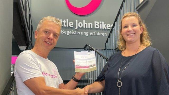 Anja Freitag gewinnt E-Bike-Gutschein-Image