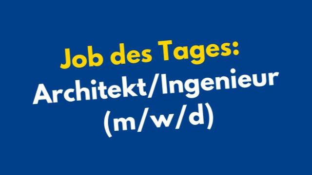 Architekt/Ingenieur (m/w/d) -Image