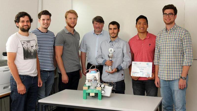 TUK-Studenten gewinnen Wettbewerb-Image