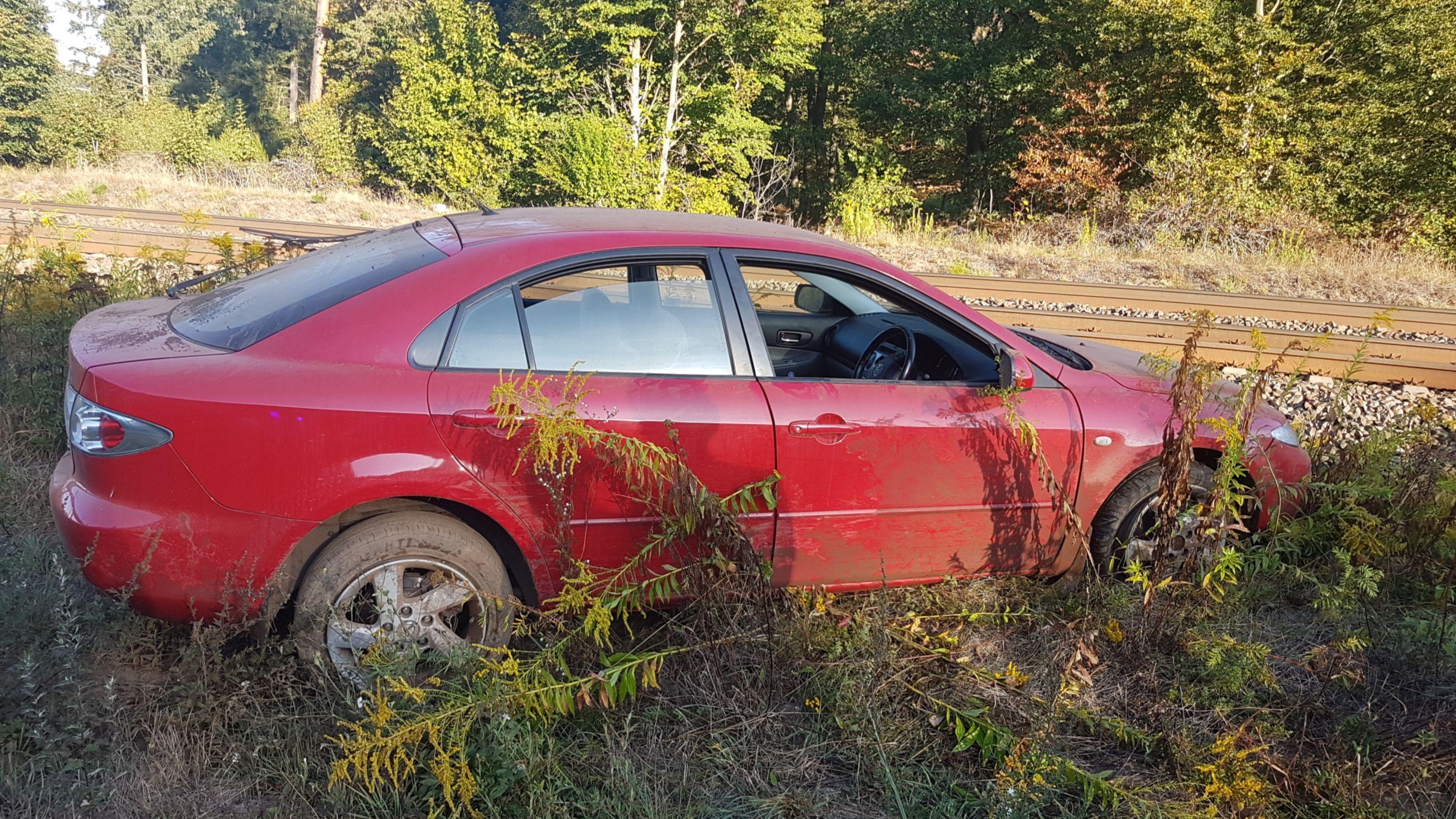 Verkehrsunfall bei Landstuhl gestern Morgen-Image
