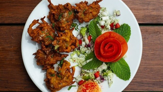Indische Gemüse Pakoras-Image