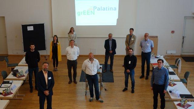 ''grEEN Palatina III'': Unternehmen der Stadt schließen sich zu Energie-Effizienz-Netzwerk zusammen-Image
