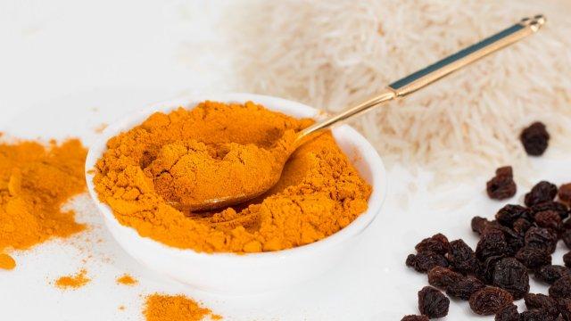 Schwarzkohl-Curry mit frittierter Jackfruit-Image