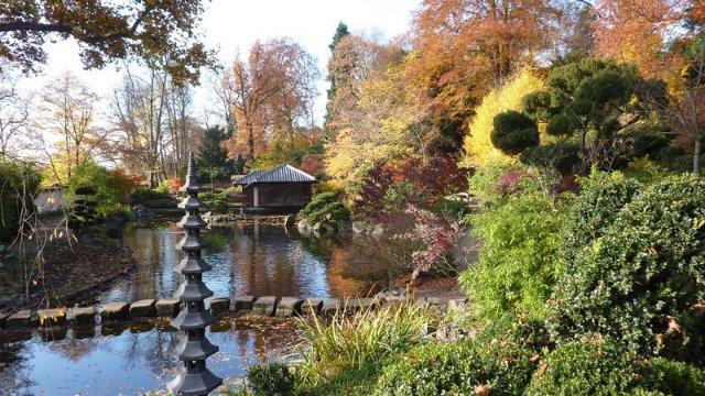 Saisonstart der Gartenschau und des Japanischen Gartens-Image