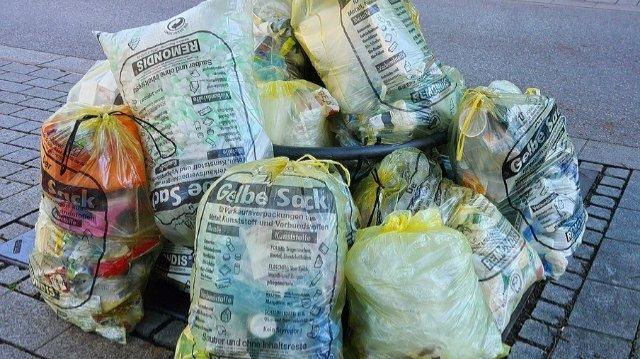 Terminverschiebung der Müllabfuhr-Image