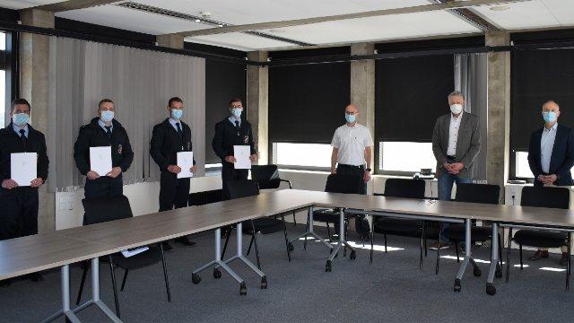 Nachwuchskräfte für die Berufsfeuerwehr-Image