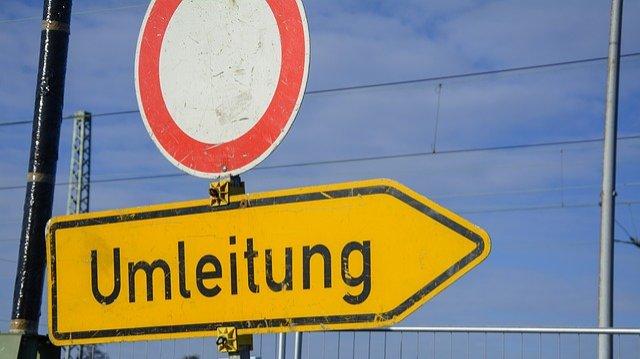 Sperrung der Bahnunterführung in Lothringer Dell-Image