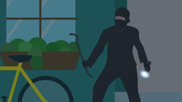 Einbrecher im östlichen Stadtgebiet unterwegs-Image