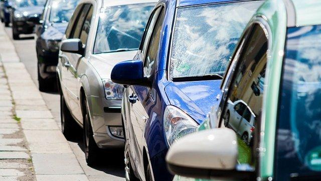 Auto mutwillig beschädigt-Image