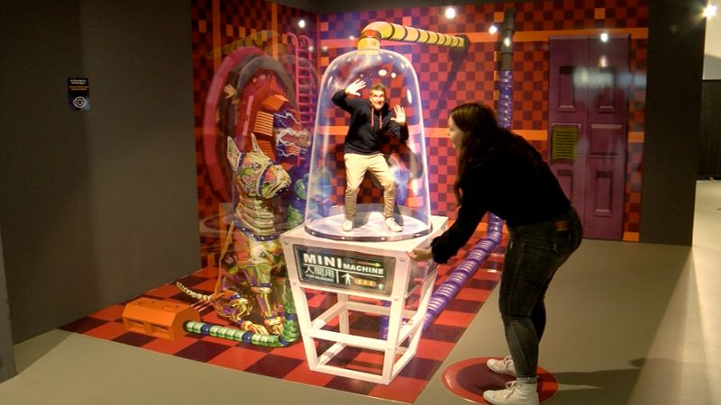 Mindways 3D-Trickart Museum Erweitert